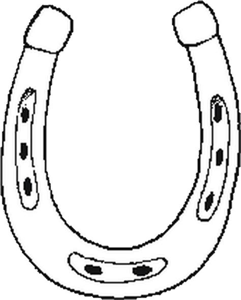 coloring page horseshoe horseshoe coloring pages