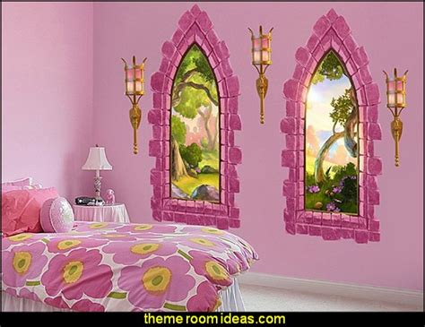 Fairytale Wall Murals decorating theme bedrooms maries manor princess style