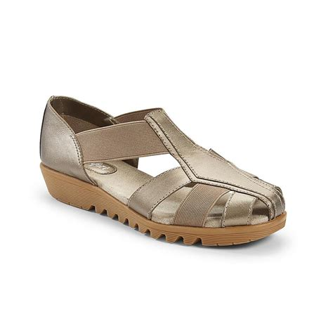 Comfort Shoes Sears by I Comfort S Delia Pewter Comfort Sandal