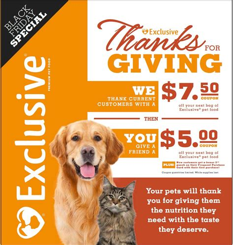 exclusive puppy food thanks for giving purina exclusive pet food bar none country store