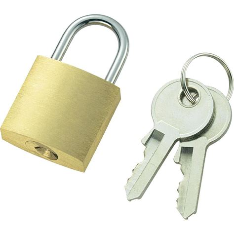 cadenas a code ou a clef cadenas 110496 laiton avec serrure 224 cl 233 conrad fr