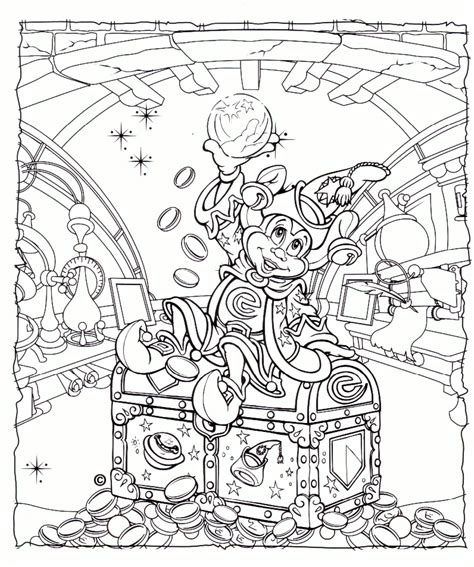 disney coloring pages for adults best coloring pages for