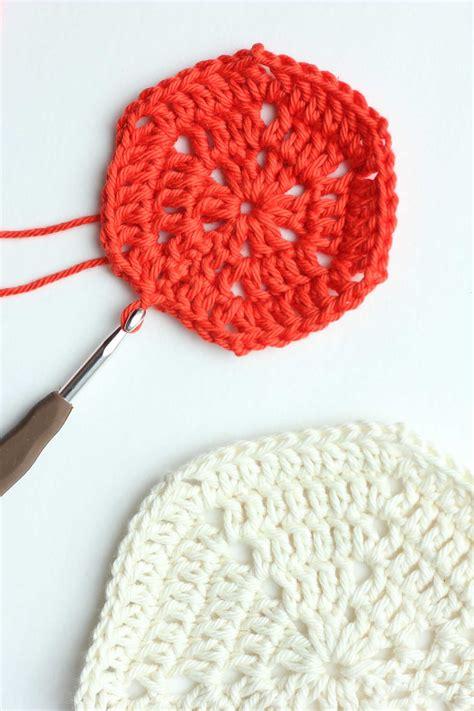 crochet how crochet hexagon pattern tips and clear photos