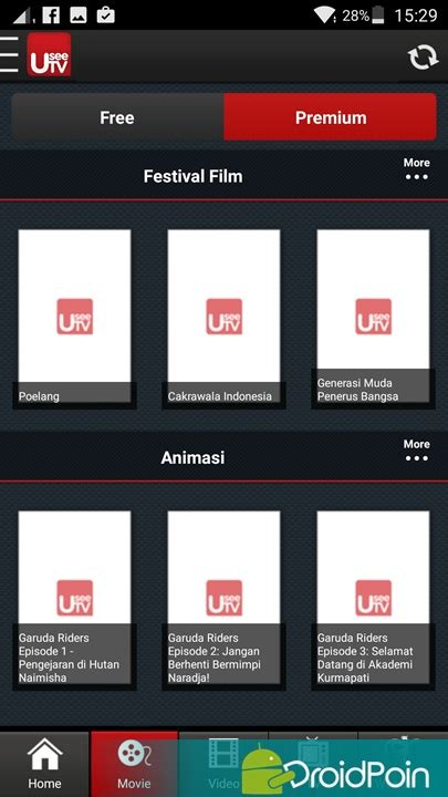 Android Untuk Tv 4 aplikasi android untuk nonton tv droidpoin
