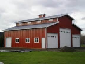 large pole barn kits modern large orange and white pole barn garage kits with