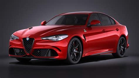 Alfa Romeo Models by 2016 Alfa Romeo 3d Model