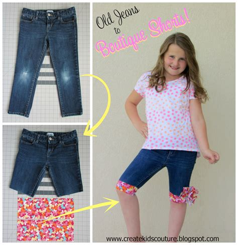 upcycle boutique upcycle into awesome shorts tutorial beesdiy