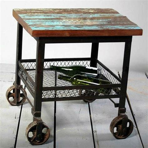 Island Trolley Kitchen 16 industrial furniture pieces to purchase and use