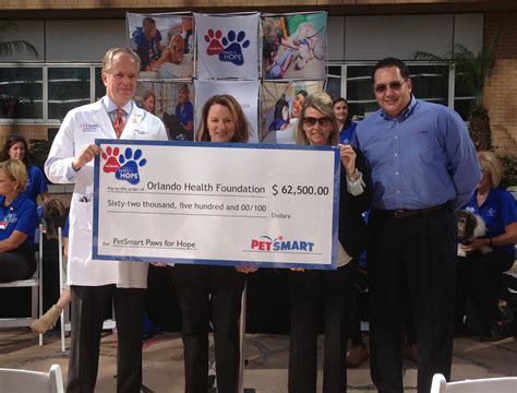 petsmart therapy orlando health and petsmart partner to fund pet therapy program