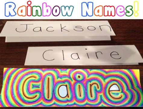 Taking The Kiddos To School by Best 25 Name Projects Ideas On Excited