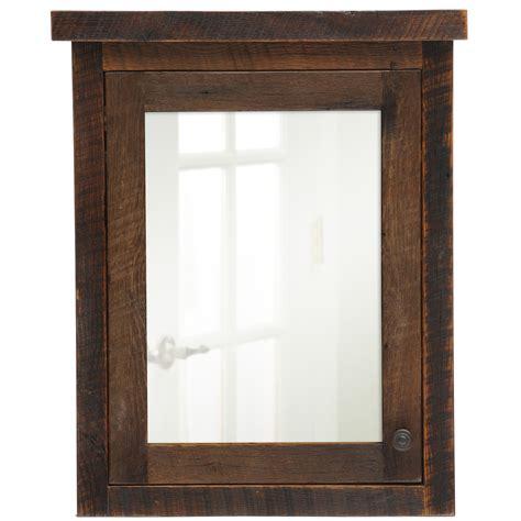 rustic medicine cabinet with mirror barnwood medicine cabinet