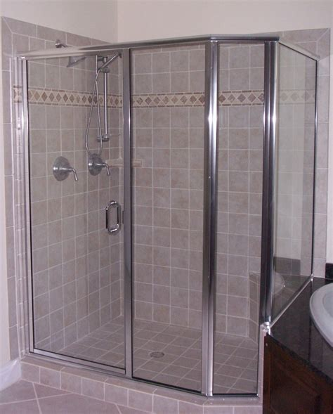 Shower Door Replacement Replace Shower Door Frame How To Replace Shower Doors With A Shower Curtain Apartment Therapy