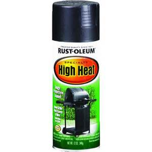 rust oleum high heat spray enamel blk hi heat paint ebay