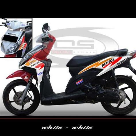 Sticker Striping Motor Honda Spacy 2011 2012 sticker honda vario techno repsol jual striping