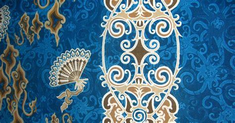 Kain Batik Printing Kt 9b 1 batik motif dayak khas kalimantan batik motif dayak
