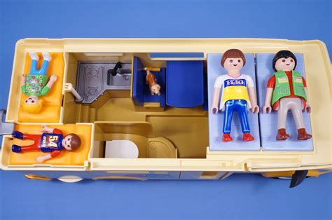 Ebay Awning Playmobil Camper Van With Figures Accessories Holiday