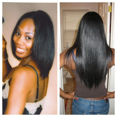 relaxed hair before and after afro twist braid by miracle hairstyle gallery