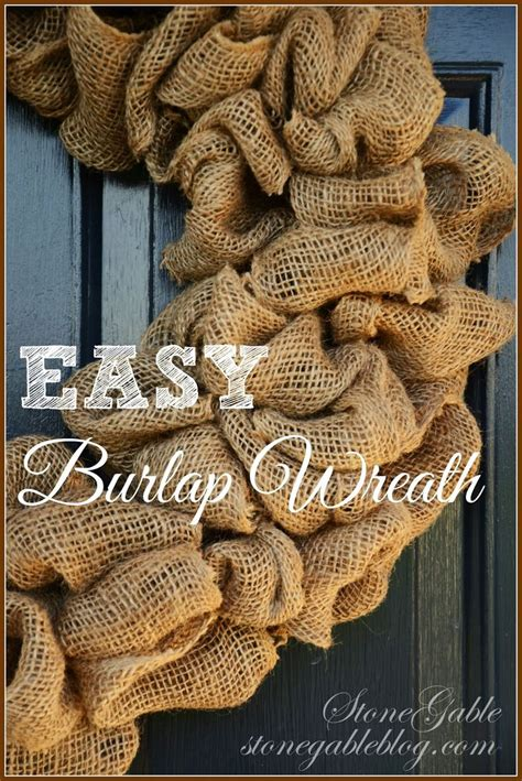 burlap wreath tutorial stonegable 48 best burlap classroom images on pinterest school