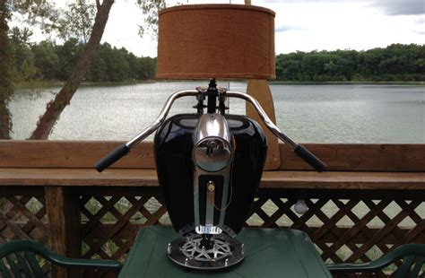 Cool Lamps Gas Tank Lamps Custom Motorcycle Parts Art
