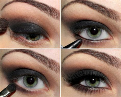 video sexy smokey eyes step by step bold beautiful black smokey eyes makeup tutorial step by