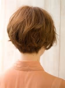 pictures of the back of a wedge hair cut popular japanese haircut back view short hairstyles 2015