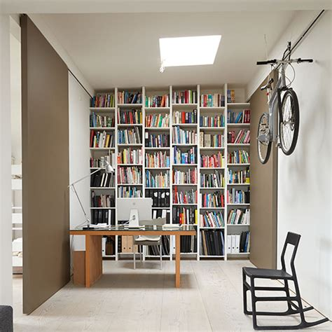 home office design uk home office with floor to ceiling shelves decorating