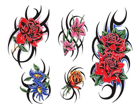 tattoo clipart flowers clipart tattoos tattoos