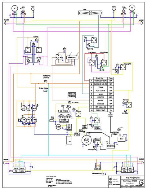 580k electrical schematic wiring diagram