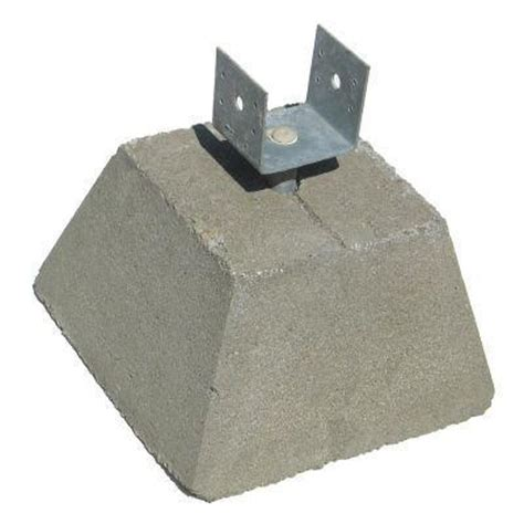 Home Depot Deck Blocks by Sinking Deck Two Posts Are Sinking And Need Advice Yahoo Answers