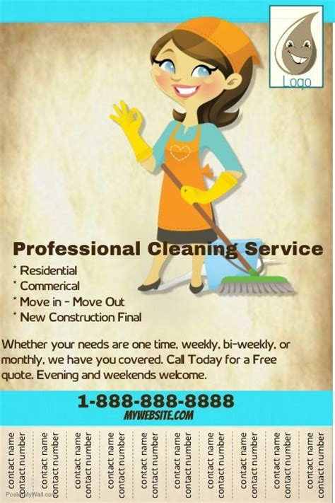 25 unique cleaning service flyer ideas on