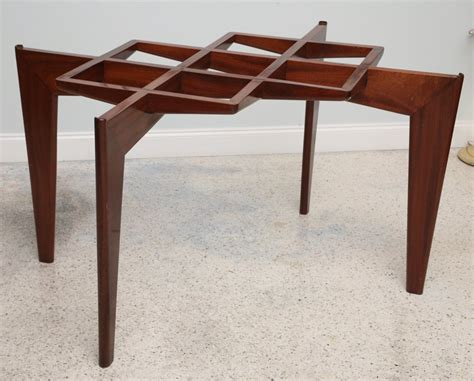Modern Italian Dining Table Italian Modern Mahogany And Glass Dining Table Gio Ponti For Sale At 1stdibs