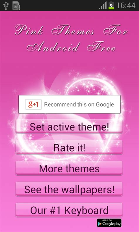 themes for android free download pink pink themes for android free android apps on google play