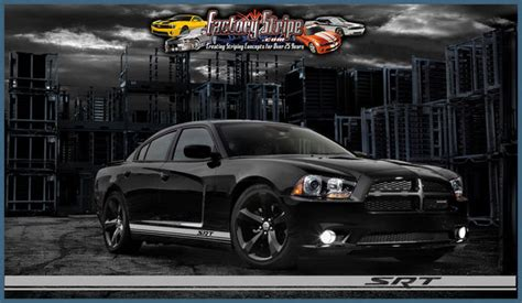 Charger Roker 2 1 dodge charger srt rocker panel factory stripe style 3m a
