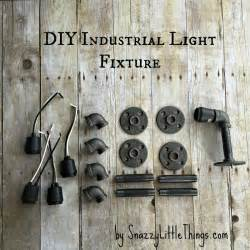 Diy Industrial Light Fixture Diy Industrial Light Fixture Snazzy Things