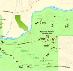 san simeon california map san simeon state park east map san simeon state park