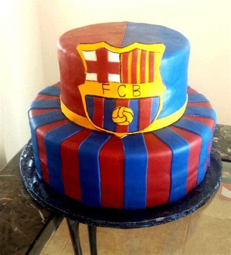 barcelona cake barcelona birthday cake cakes by luz pinterest