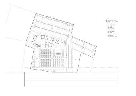 market floor plan food villa market i like design studio archdaily