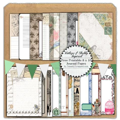free printable journal pages pinterest 19 free printable journal pages fantastic selection of