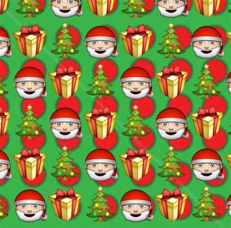 emoji christmas wallpaper メοメᗷᑌᗷᗷᗷᒪegᑌᑌᗰᗰメοメ image 3789626 by bobbym on favim com