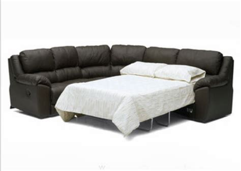 black leather sleeper sofa sectional s3net sectional