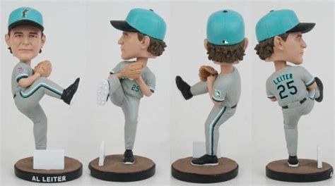 Marlins Bobblehead Giveaway - september 10 2016 miami marlins al leiter 1996 all star bobblehead
