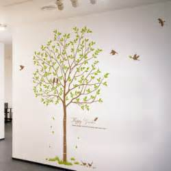 Tree Wall Decor Stickers large tree removable wall decals vinyl stickers decor 106 happy garden