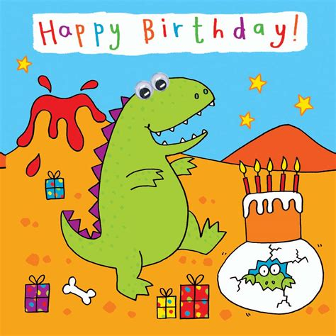 Animated Child Birthday Card Kids Cards Kids Birthday Cards