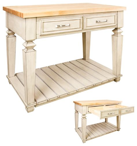 table style kitchen island table style kitchen island by jeffrey isl09 fwh