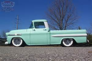 sweet 1959 chevrolet apache fleetside rod loaded and