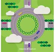 Roundabout Vector  Free Download