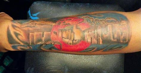 denver skyline tattoo denver tattoos