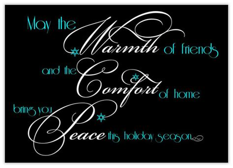 comfort peace warmth comfort peace business christmas cards from