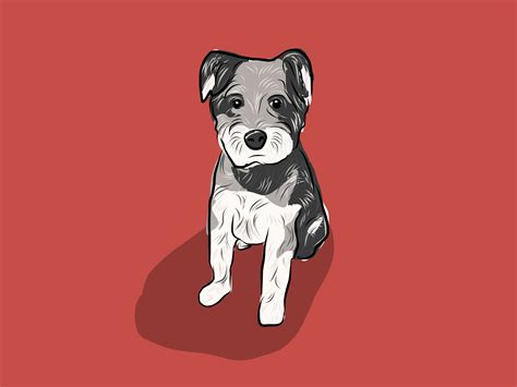 puppy illustration illustration pictures to pin on pinsdaddy