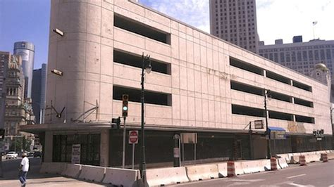 Parking Garages Downtown by Downtown Parking Garages Lose Architecture Wins Eater